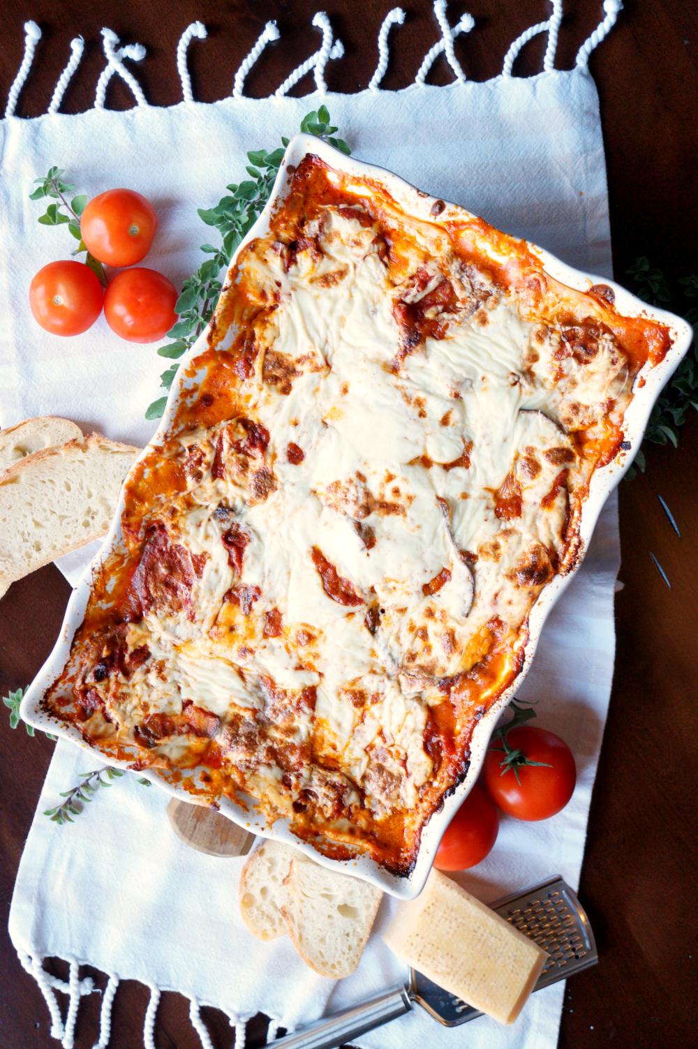 eggplant parmesan {parmigiana di melanzane} | The Baking Fairy