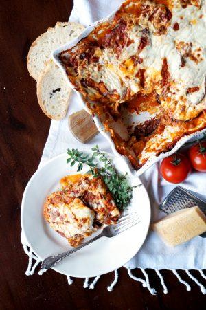 eggplant parmesan {parmigiana di melanzane}   The Baking Fairy