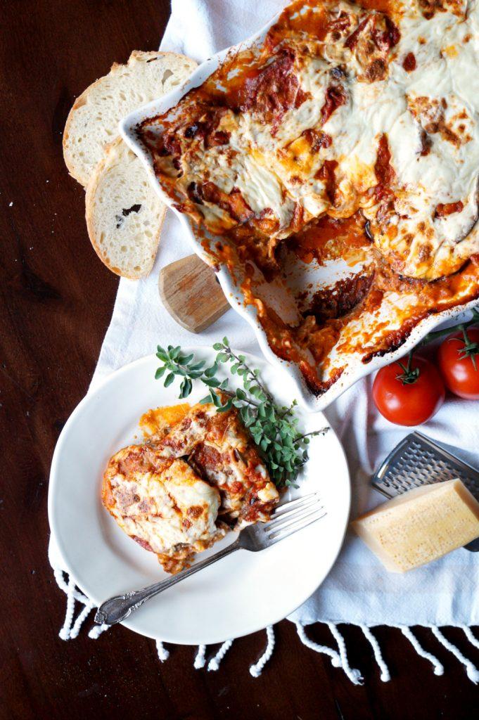 eggplant parmesan {parmigiana di melanzane}