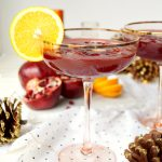 pomegranate orange margaritas | The Baking Fairy