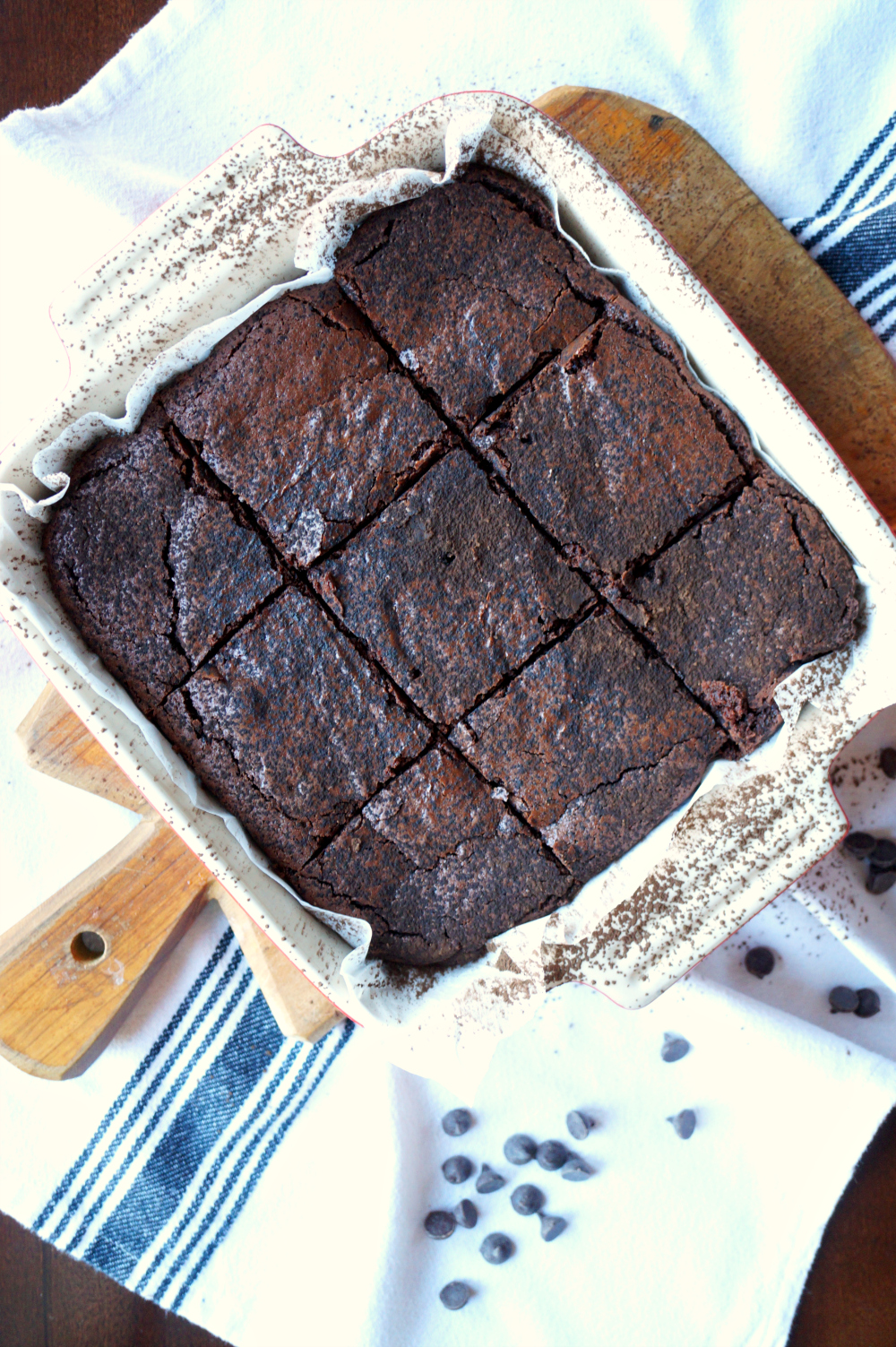 the easiest one-bowl truffle brownies | The Baking Fairy