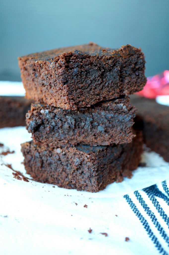 the easiest one-bowl truffle brownies
