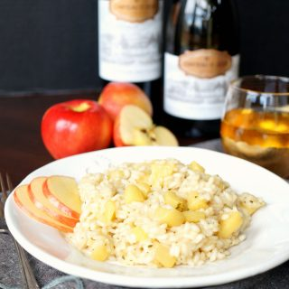 smokey apple gouda risotto | The Baking Fairy