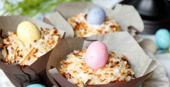 coconut pistachio carrot cake cupcakes
