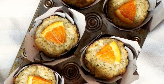 cara cara orange poppyseed muffins