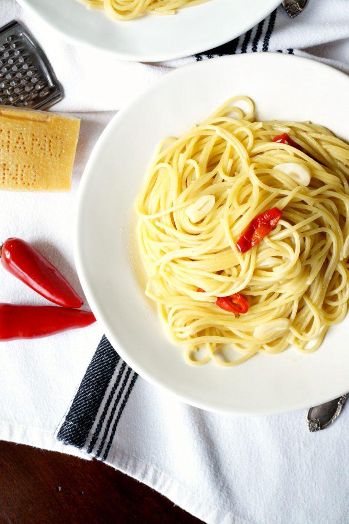 spaghetti aglio olio & peperoncino