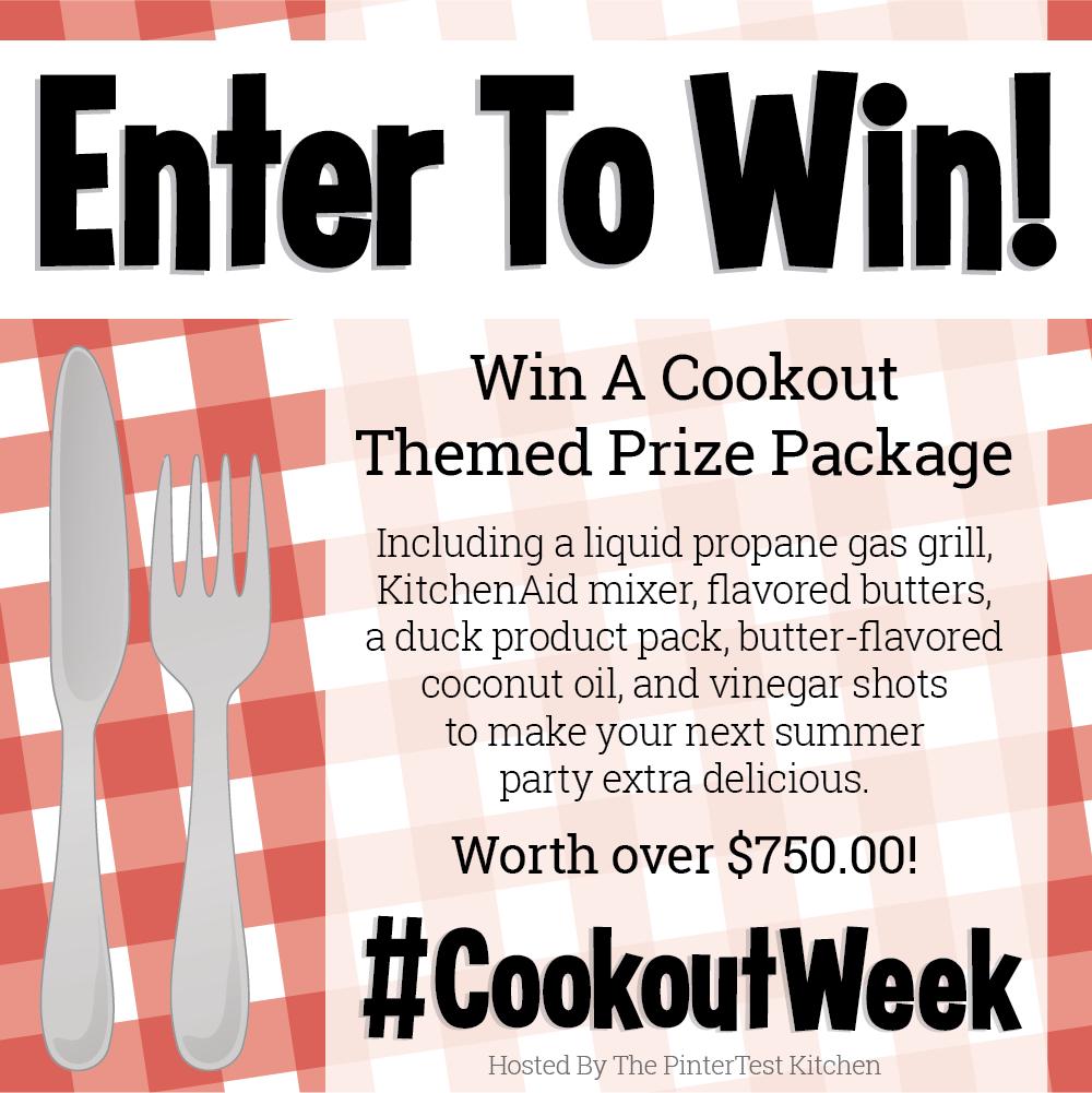 #CookoutWeek 2018 Giveaway