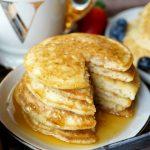 fluffy vegan buttermilk pancakes | The Baking Fairy