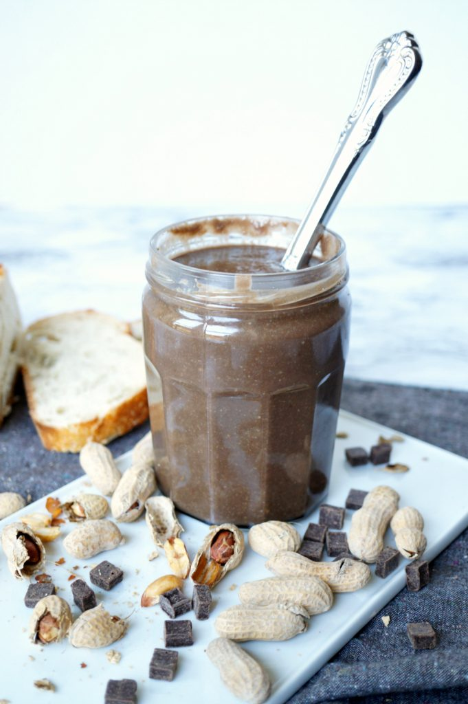 homemade chocolate coconut peanut butter