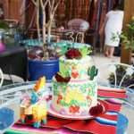 Mexican embroidery birthday cake | The Baking Fairy