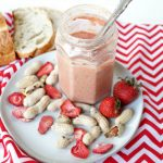 homemade strawberry peanut butter | The Baking Fairy
