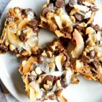 gluten free & vegan seven layer bars | The Baking Fairy