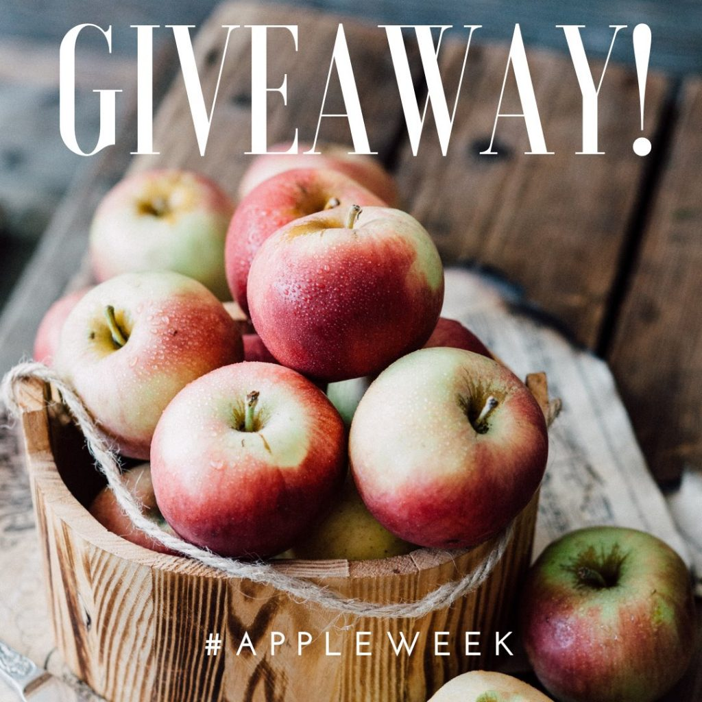 welcome to #AppleWeek + a giveaway!