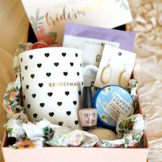 bridesmaid proposal boxes | The Baking Fairy