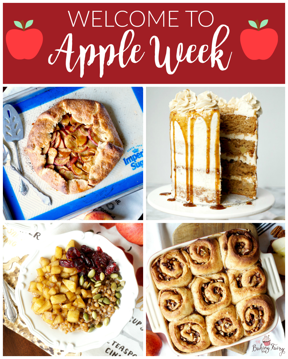 welcome to #AppleWeek | The Baking Fairy