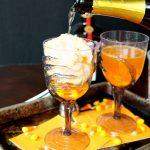 vanishing candy corn cocktails #HalloweenTreatsWeek | The Baking Fairy