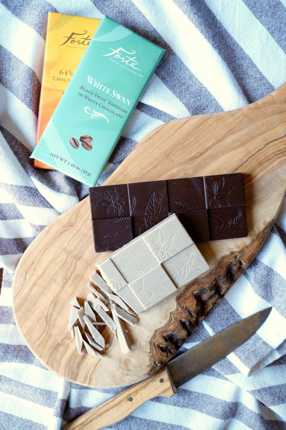 white chocolate mocha braided bread | The Baking Fairy #Choctoberfest