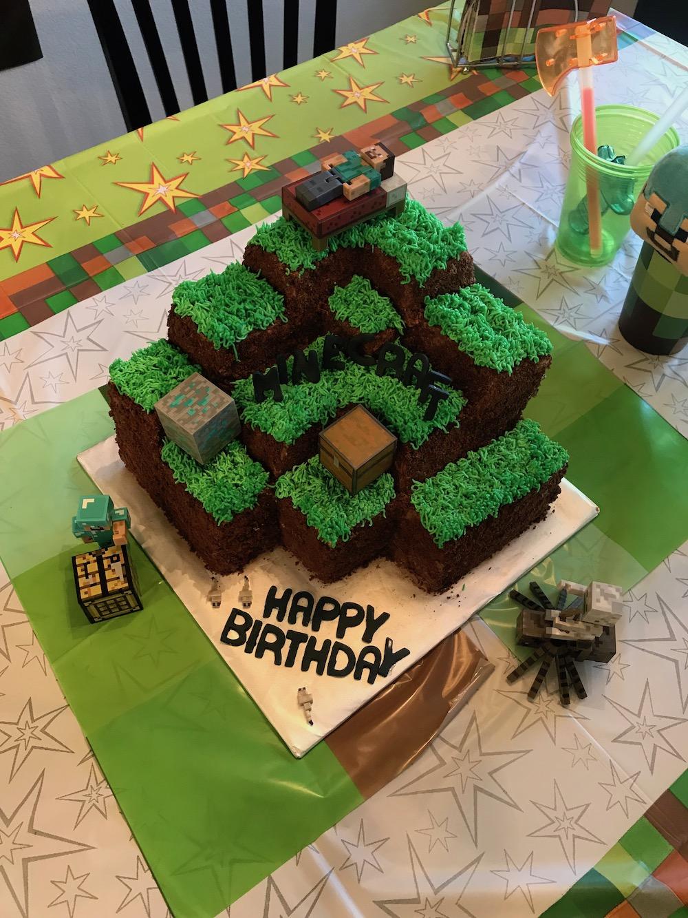 Minecraft Cake | The Baking Fairy
