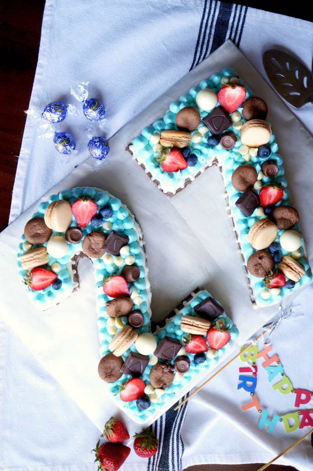 cutout number cake | The Baking Fairy