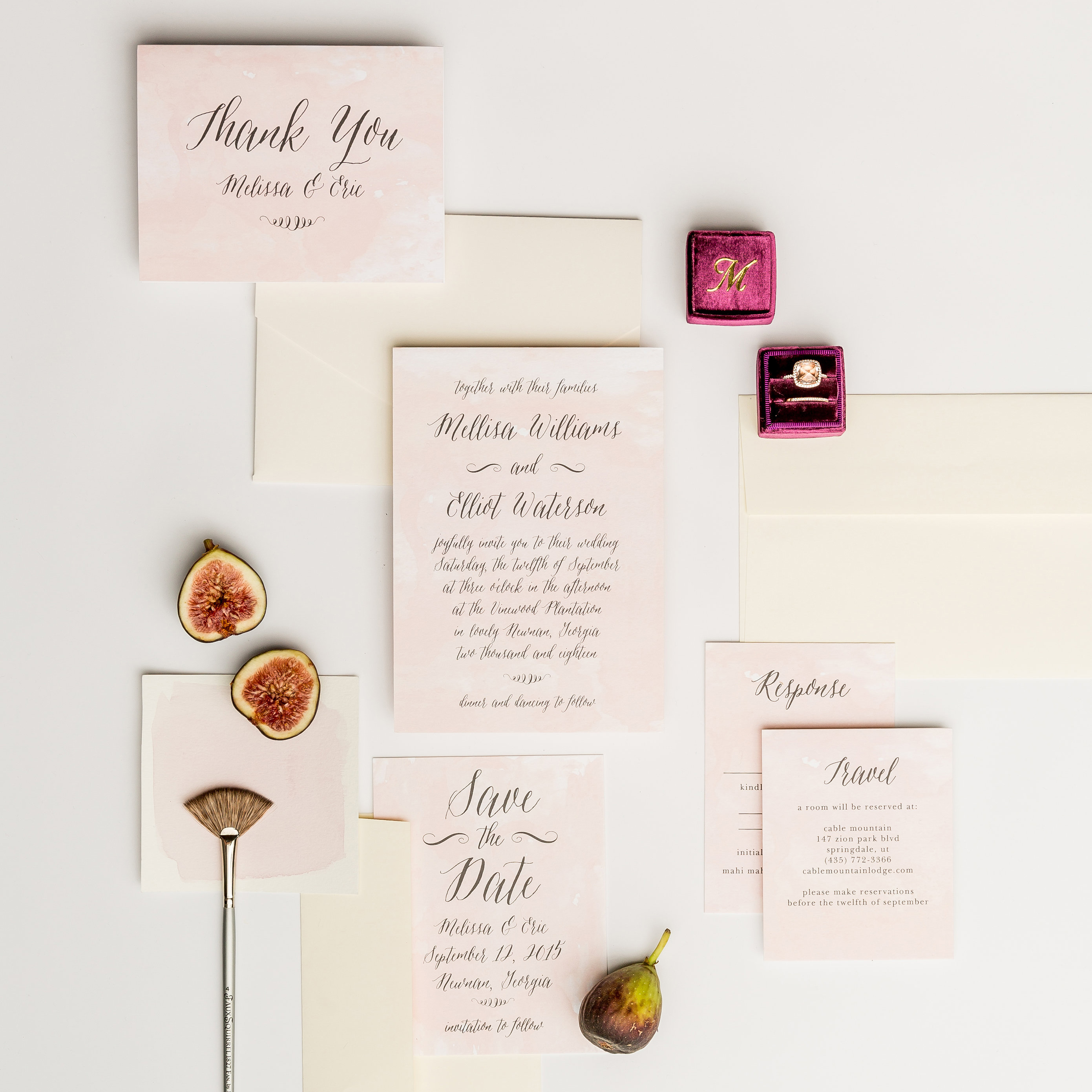 why I picked Basic Invite for my wedding invitations | The Baking Fairy