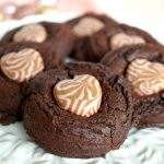 valentine's day chocolate truffle cookies | The Baking Fairy