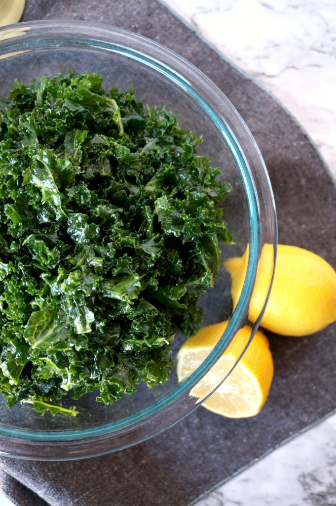 the BEST {and easiest!} kale salad | The Baking Fairy