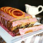 vegan blood orange dark chocolate loaf cake | The Baking Fairy #ad #SpringSweetsWeek