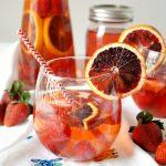 blood orange berry sangria | The Baking Fairy #ad #EasterBrunchWeek