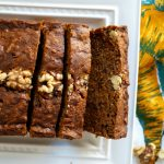 vegan carrot cake banana bread | The Baking Fairy