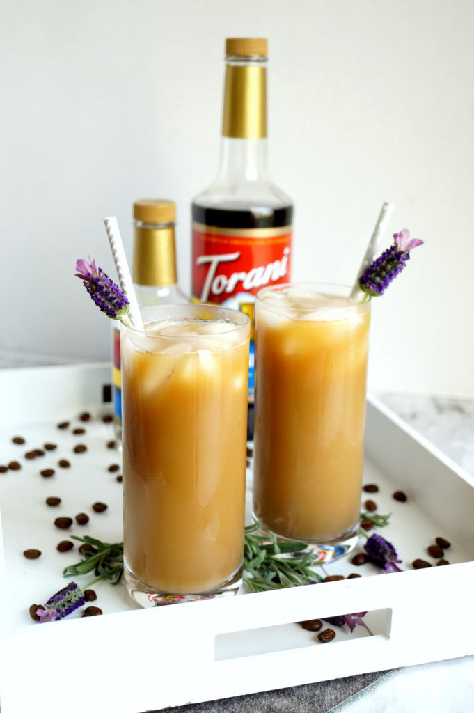 iced lavender latte | The Baking Fairy #ad #BrunchWeek