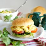 tofu egg salad sandwich