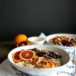 autumn harvest bowls with blood orange tahini drizzle | The Baking Fairy #FreakyFruitsFriday