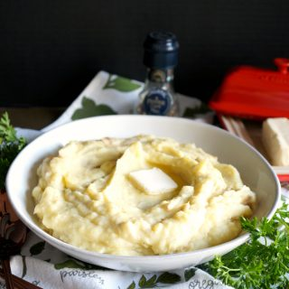 super easy one-pot mashed potatoes | The Baking Fairy