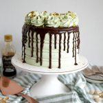 vegan pistachio chocolate chunk cake | The Baking Fairy