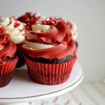 single chocolate peppermint cupcake