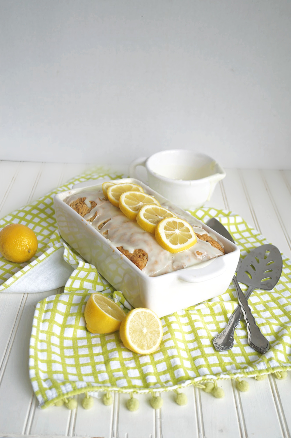 lemon zucchini loaf cake
