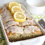 sliced lemon zucchini loaf