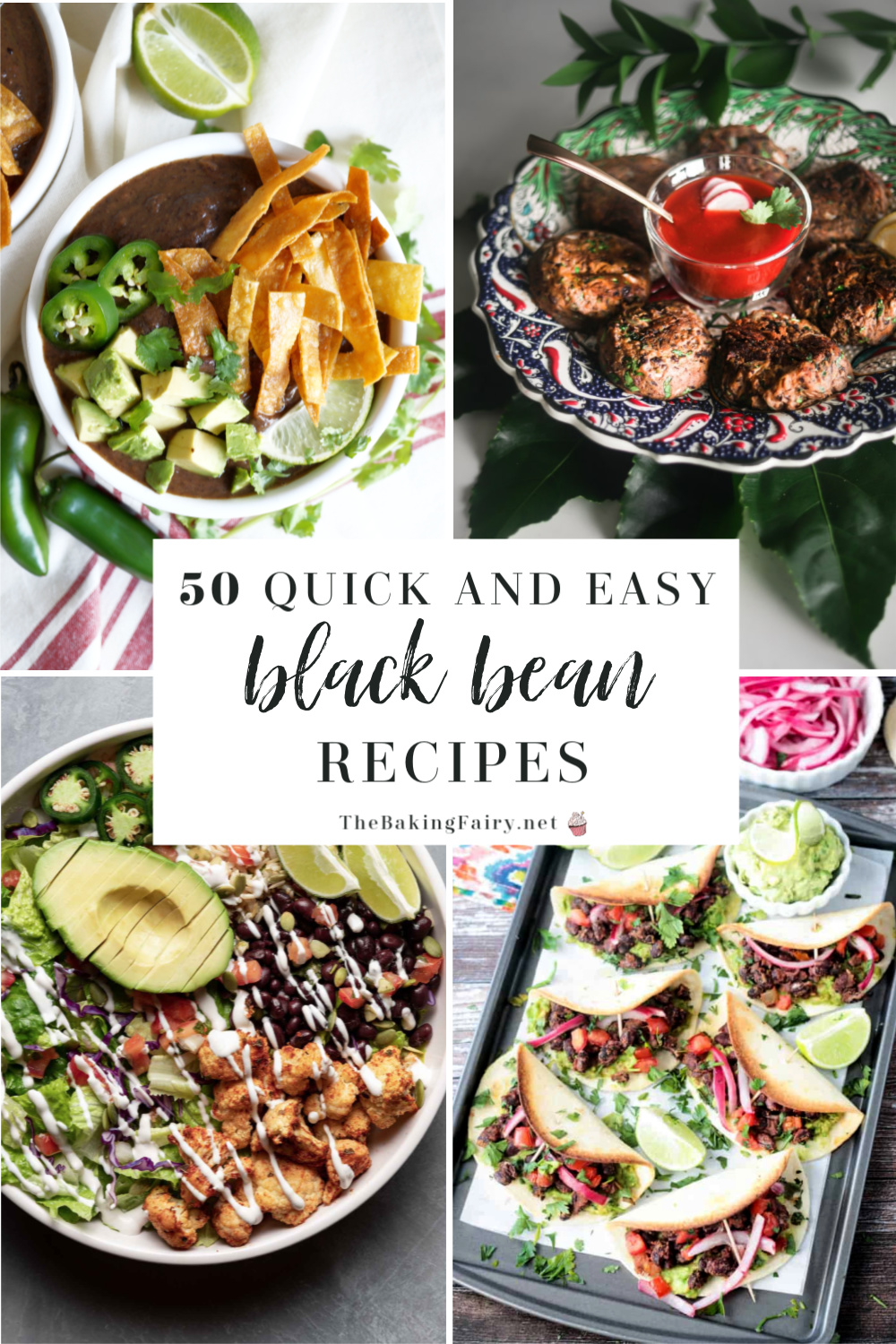 50 Vegetarian Friendly Black Bean Recipes The Baking Fairy