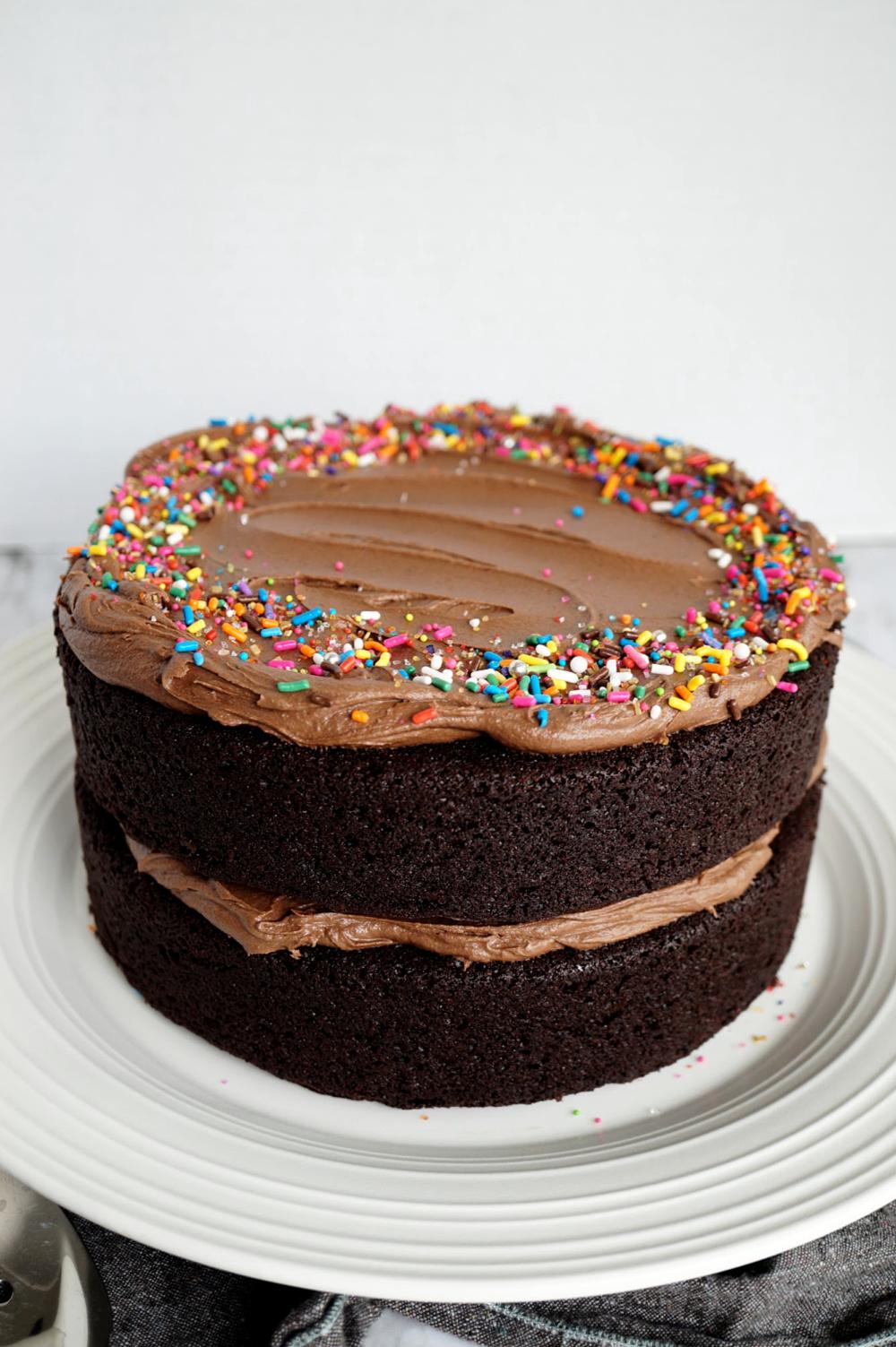 Easy Chocolate Cake Vegan Baking Basics The Baking Fairy