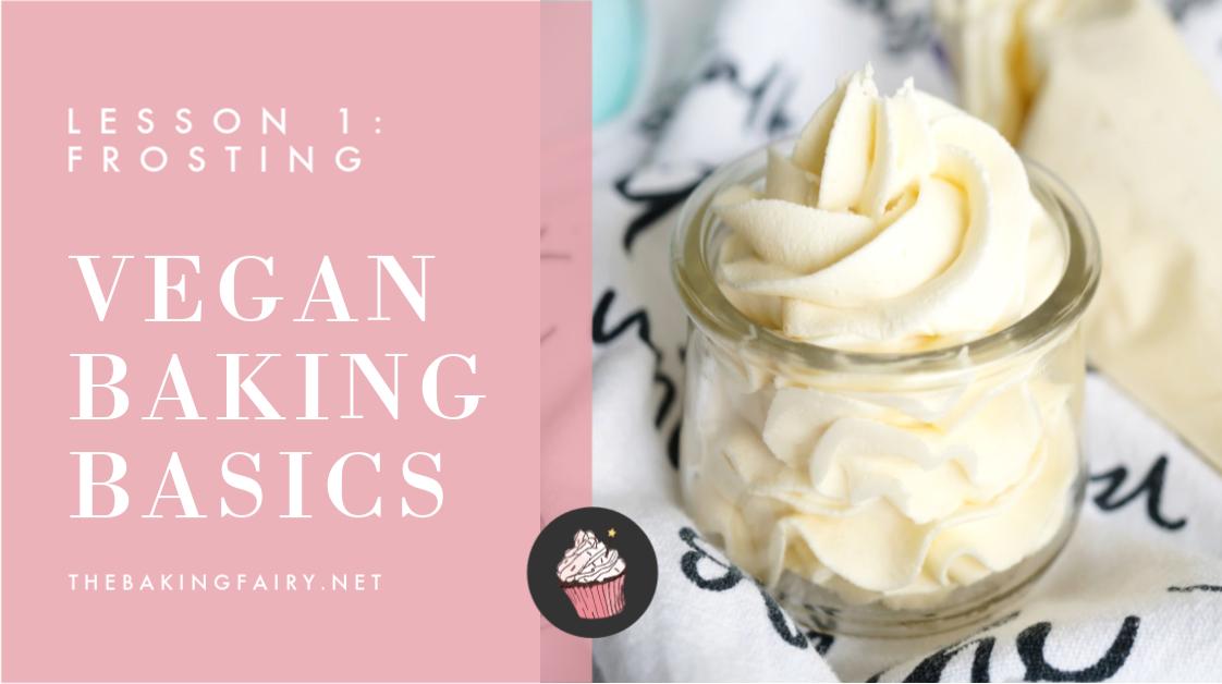 vegan baking basics header