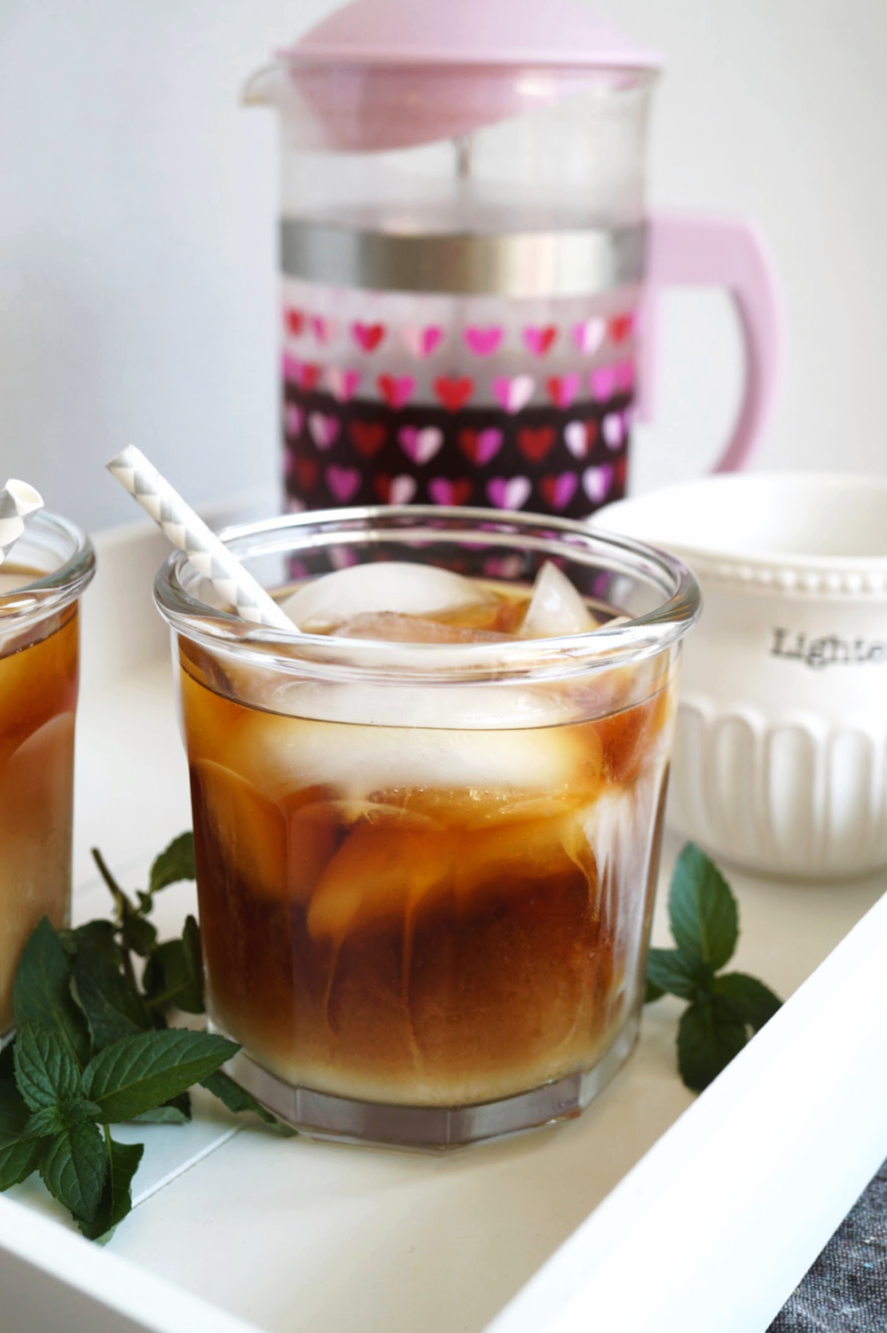 cup of cold brew coffee