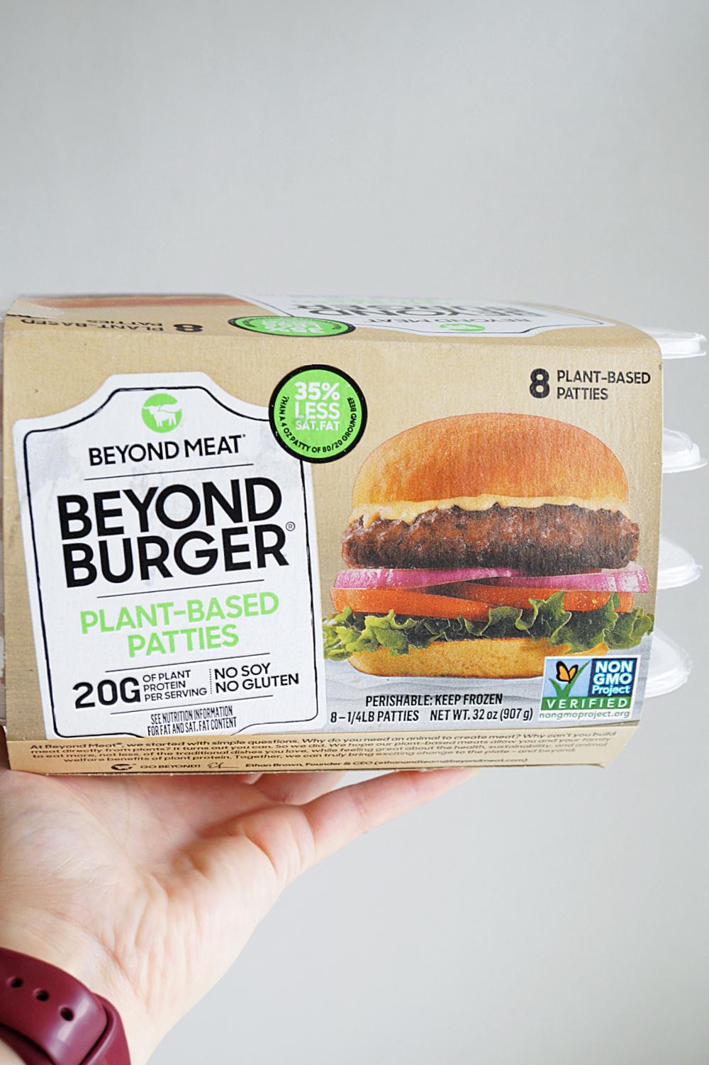 package of Beyond Burgers